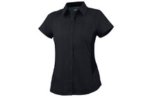 Columbia Women's Silver Ridge Short Sleeve Shirt black
